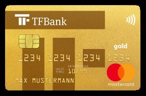 tf bank mastercard kreditkarte ohne girokonto