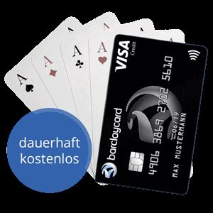 Kostenlose Kreditkarte - dauerhaft kostenlos