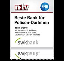 SWK Beste Bank für Policen-Darlehen