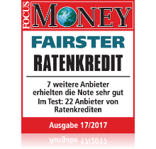 SWK Fairster Ratenkredit Focus Money