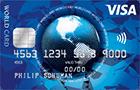 ics visa wordcard Kartenabbildung