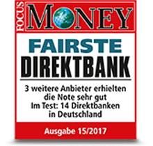 DKB Fairste Direktbank - Focus Money