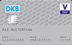 DKB Girocard Kartenabbildung