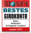 DKB Auszeichnung - Bestes Girokonto - Focus Money