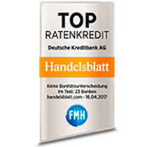 DKB Kredit Test - Top Ratenkredit - Handelsbalt