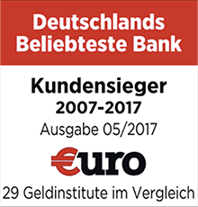 Beliebteste Bank ING DiBa