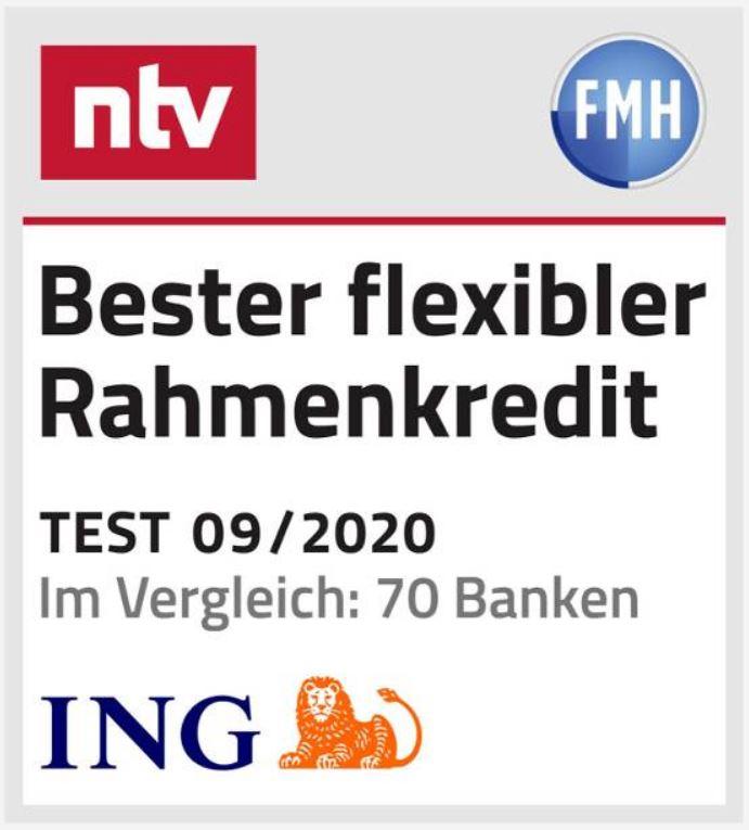 ING Bester Rahmenkredit 2020