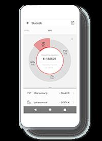 N26 Ausgabenübersicht App Abbildung