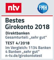 comdirect bestes girokonto ntv 2018