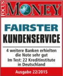 barclaycard fairster Kundenservice Focus 2015