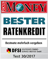 barclaycard New Visa bester Ratenkredit - Focus Money 2017