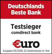 comdirect beste bank €uro 2018