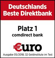 comdirect beste direktbank €uro 2018