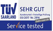 Santander TÜV Ratenkredit - Sehr Gut