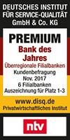 Targobank Premium Bank des Jahres 2017