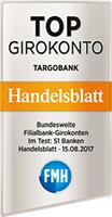 Targobank Top Girokonto - Handelsblatt 2017