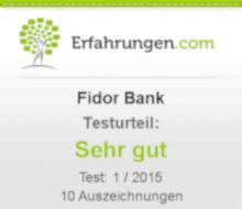 Erfahrungen Fidor Bank