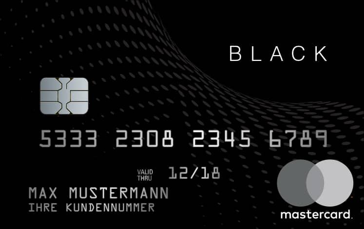 black and white MasterCard