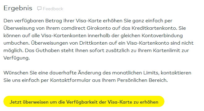 Visa Karte Comdirect.ᐅ Comdirect Kreditkarte Kosten Konditionen Erfahrungen 2019