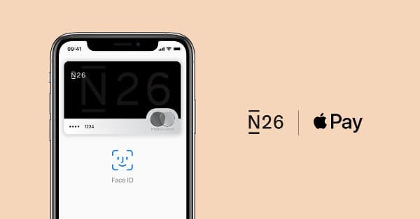n26 apple pay app