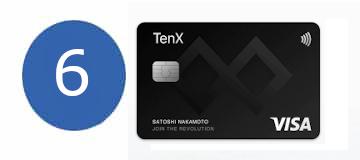 Bitcoin Kreditkarte Tenx
