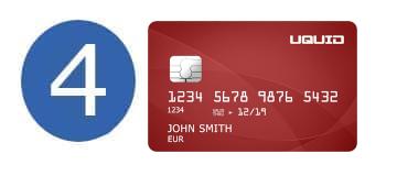 Bitcoin Kreditkarte Uquid