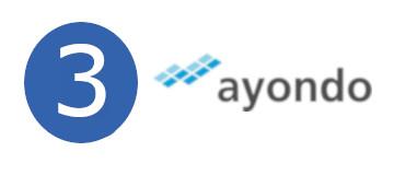 Ayondo Dritter Platz