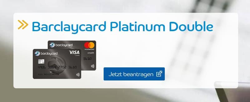 Barclaycard Platinum Kreditkarte