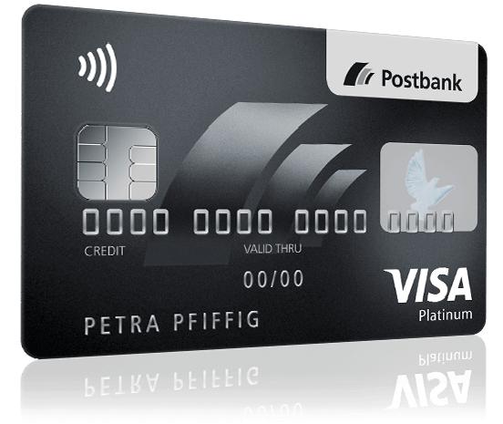 postbank platin kreditkarte