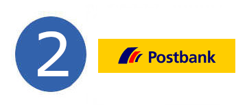 Postbank Zweiter Platz