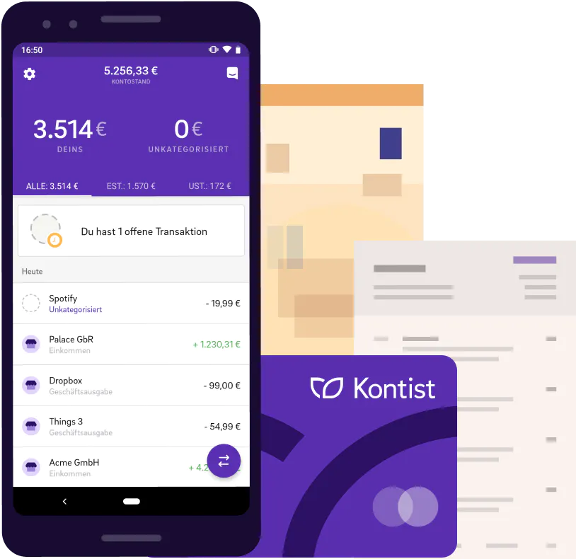 Kontist Vs N26 Kontist App Kategorisierung Sceenshot