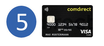 Google Pay Banken Comdirect
