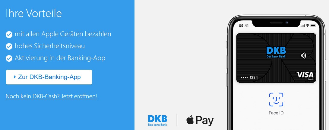 Dkb Kreditkarte Apple Pay