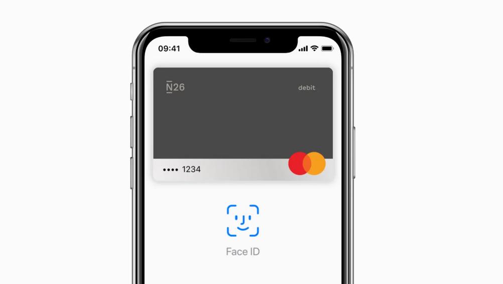 N26 Apple Pay Kreditkarte
