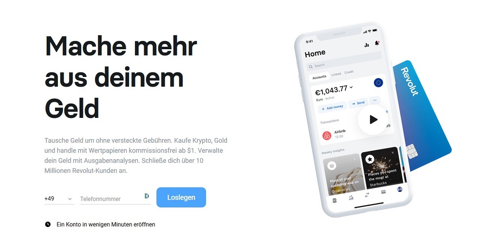 Yomo Alternative Revolut Bank