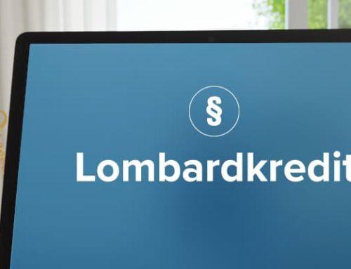 Lombardkredit: Konditionen und Definition einfach erklärt