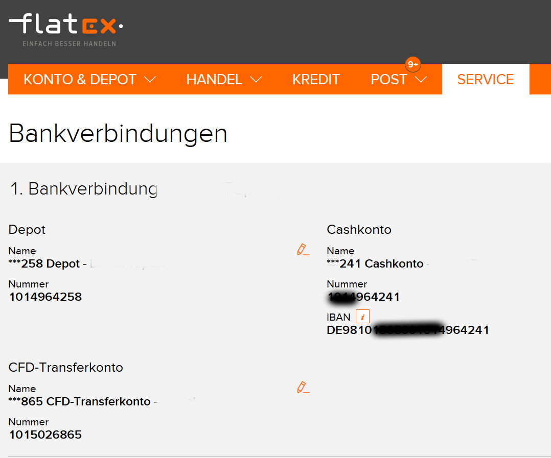 Flatex Cashkonto
