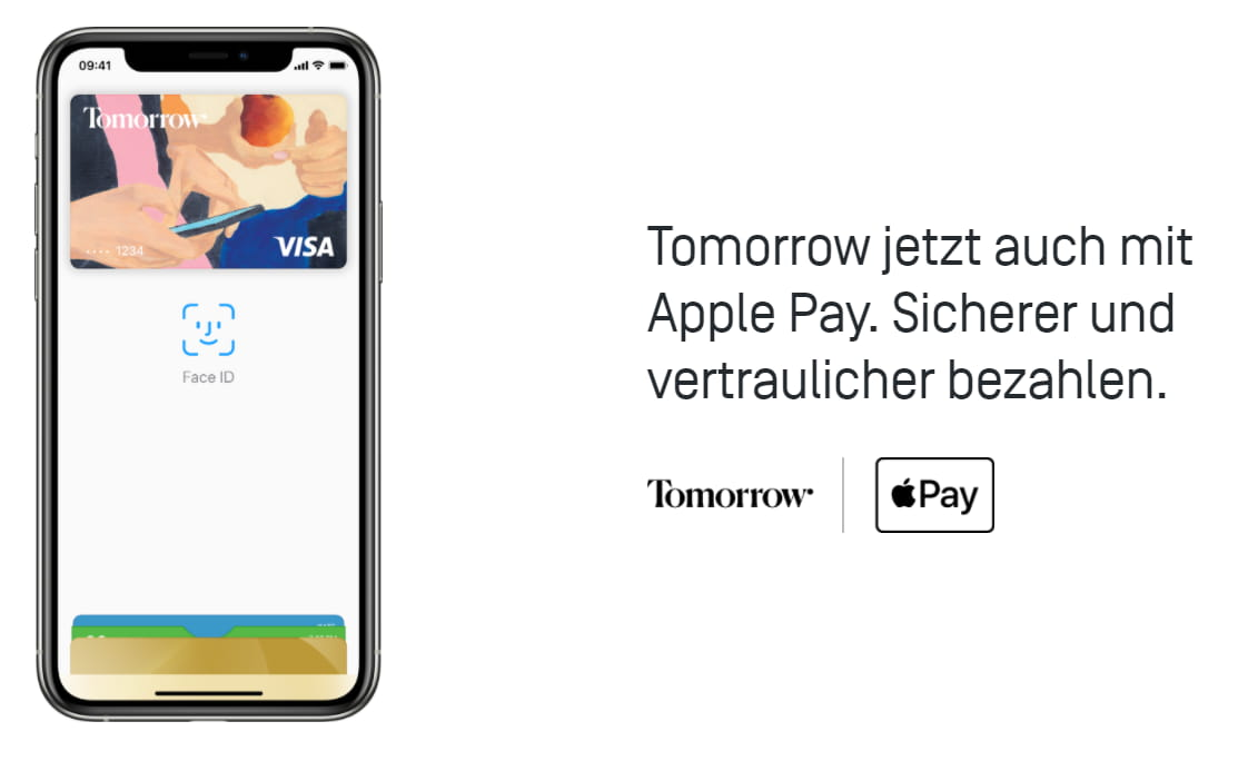 Tomorrow Bank Apple Pay