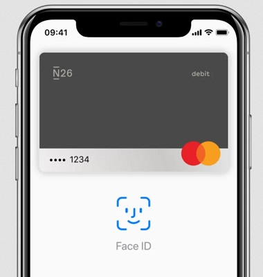 N26 Kreditkarte Apple Pay