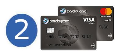 Kreditkarte ohne Girokonto Barclaycard Platinum Double