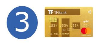 Kreditkarte ohne Girokonto TF Bank