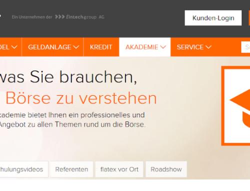 flatex Erfahrungen: Lohnt sich der Online Broker noch?