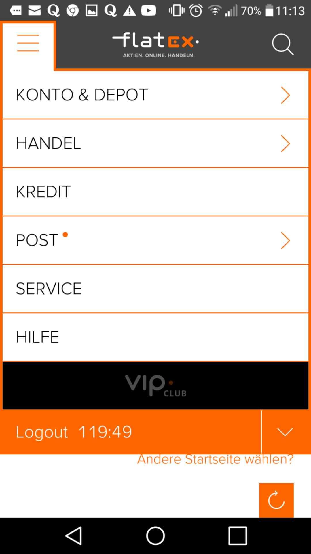 flatex erfahrungen app menü