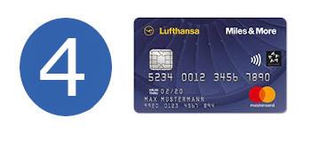 kreditkarte ohne girokonto miles and more blue