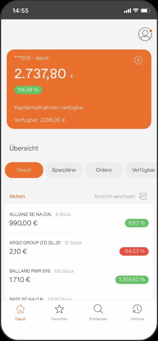 Flatex Next App