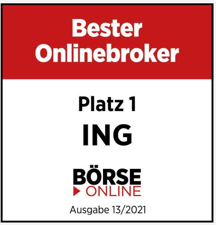 Bester Onlinebroker 2021 ING